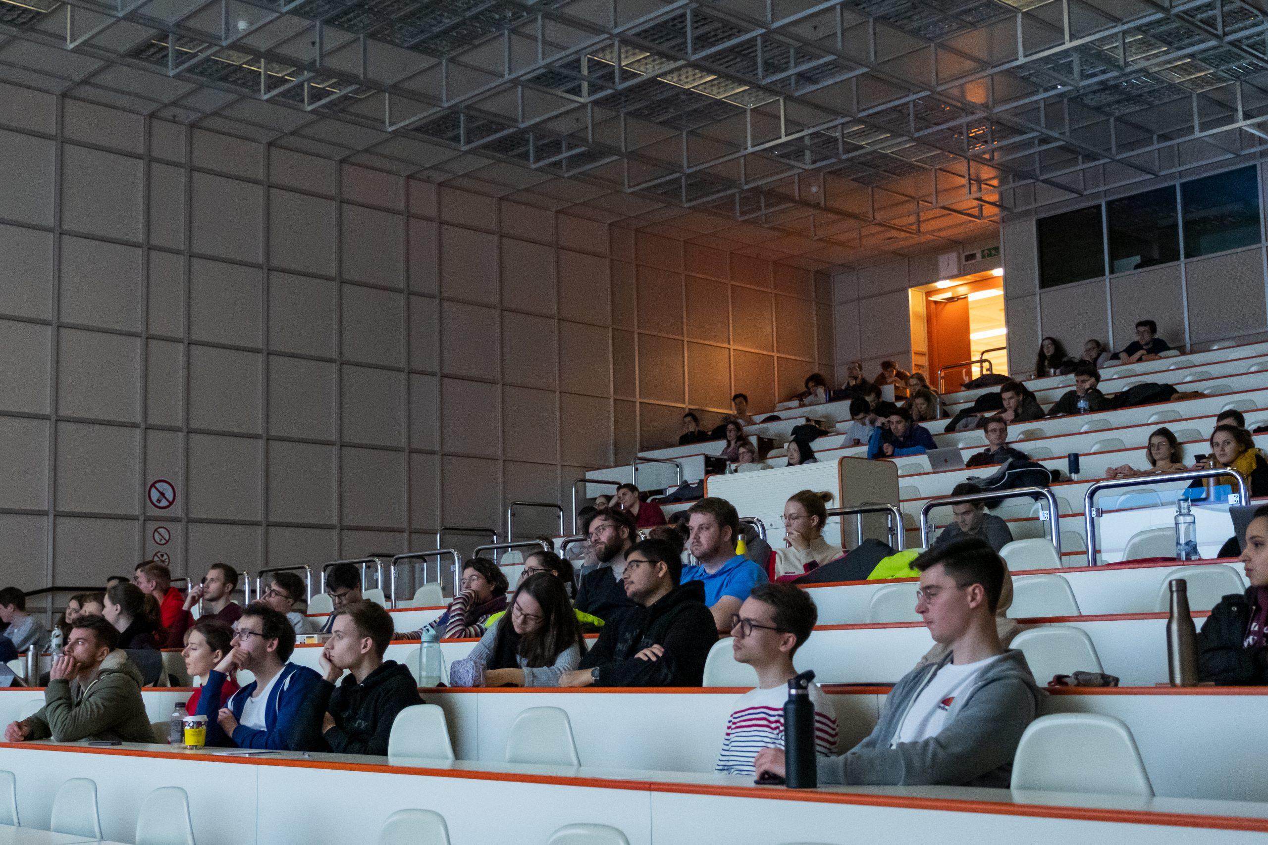 Foto des Publikums